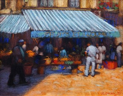 John Mackie, 'Fruit et Legumes, Market at Berier'