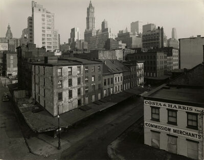 Danny Lyon, 'The East Side of Washington Street Between Reade and Chambers Streets, 1966', 1966