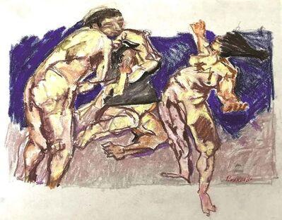 Fausto Pirandello, 'Untitled, Nudes', 1960s