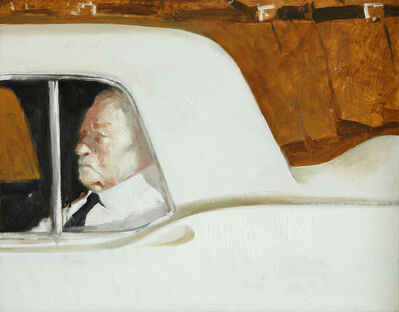 Julio Larraz, 'Death Arriving', 1994