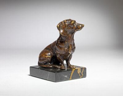 Edouard Marcel Sandoz, 'Seated Dachshund Dog', ca. 1920