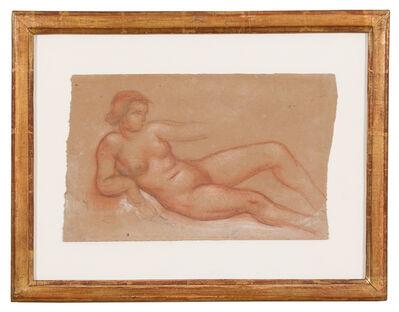 Aristide Maillol, 'Femme nue allongée de face', ca. 1930