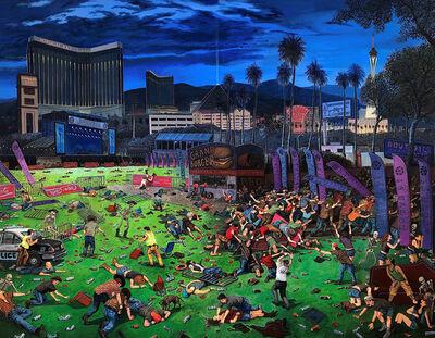 Sandow Birk, 'The Triumph of Death (Las Vegas)', 2018