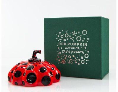 Yayoi Kusama, 'Pumpkin (Red/Black)', 2019