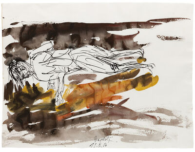 Georg Baselitz, 'Untitled 11.X.06', 2006