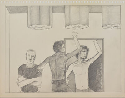 Patrick Angus, 'Boy Dancing with Himself '