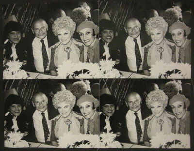 Andy Warhol, 'Phyllis Diller with Man and Two Women', 1976-1986
