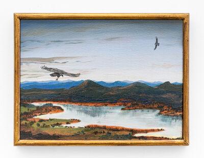 Alberto Baraya, 'Estudios comparados de paisaje - Audio Pinturas Improvisaciones en el mirador de los Urubus , Trio para chelo, kayagum y pinturas', 2015