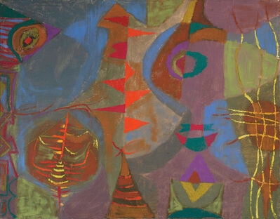 Joseph Fiore, 'Abstract #5', 1949