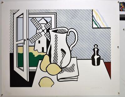 Roy Lichtenstein, 'Still Life with Windmill', 1974