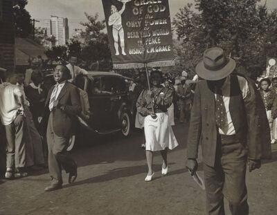 Rosalie Gwathmey, 'Parade, Charlotte, N.C.', 1947