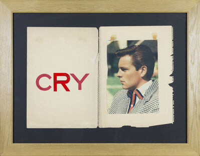 Jack Pierson, ''Cry' from the series Twilight', 2011