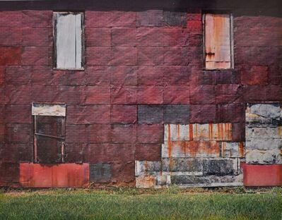 William Christenberry, 'Side of Warehouse, Newbern, Alabama, 1981', 1978-1981
