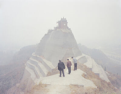 Zhang Kechun, 'In front of the temple 山顶的寺庙', 2014