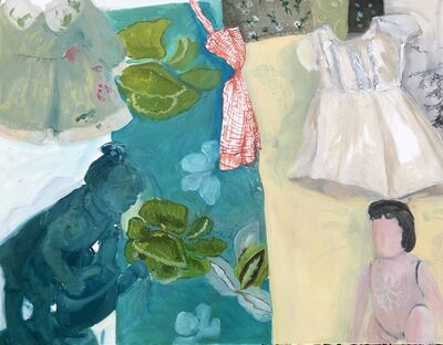Philemona Williamson, 'Green Dress, White Dress', 2018