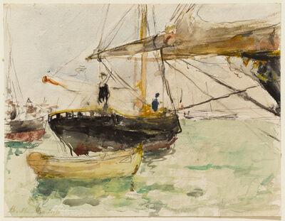 Berthe Morisot, 'Before a Yacht', 1875