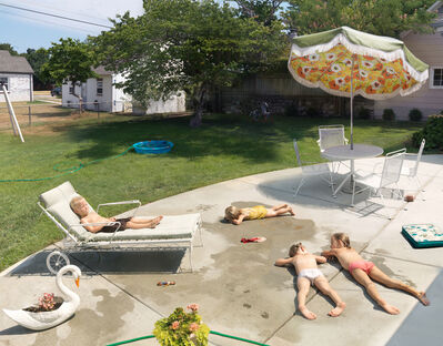 Julie Blackmon, 'Laying Out', 2015