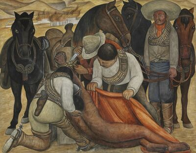 Diego Rivera, 'Liberation of the Peon'