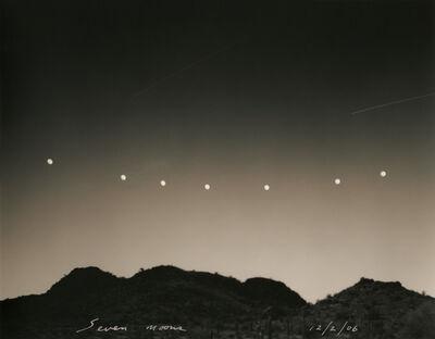 Mark Klett, 'Seven moons, 12/2/06'
