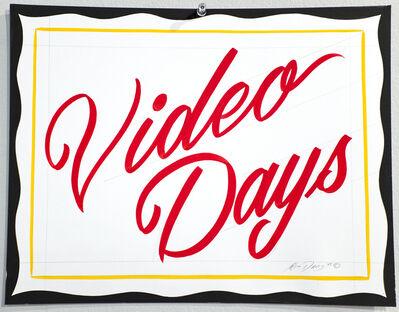 Ken Davis, 'Video Days', 2015