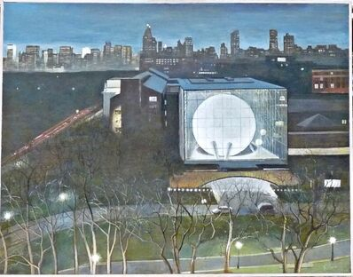 Richard Haas, 'Night View Rose Center (Planetarium), American Museum of Natural History, New York', 2001