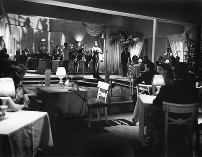 Eduardo Guerrero, 'Elsa Aguirre as nightclub singer Cora, in a still from the film Medianoche', 1948