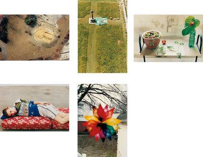 Wolfgang Tillmans, 'Five works: (i) playground, Luxembourg; (ii) charterhouse; (iii) still life, Herold Street; (iv) Volker, lying; (v) Weihnachtsstern'