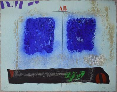 James Coignard, 'Deux bleus et noir', 2004