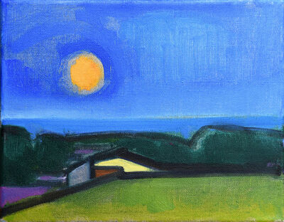 Elizabeth Higgins, 'Vineyard Moon', 2018