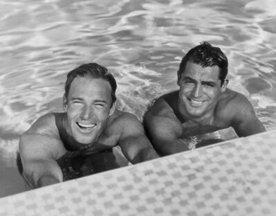 Jerome Zerbe, ' Cary Grant and Randolph Scott', 1935