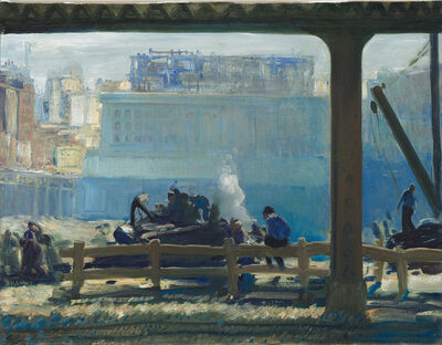 George Wesley Bellows, 'Blue Morning', 1909