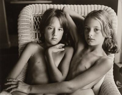 Jock Sturges, 'Catherine and [...], Paris', 1984