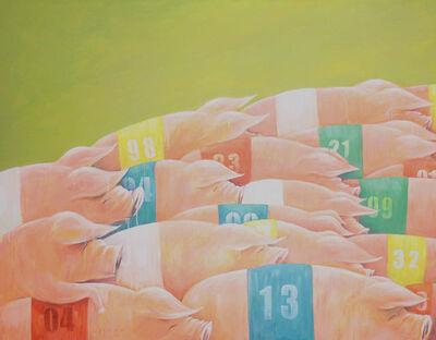 Irwan Guntarto, 'Pig Competition', 2014