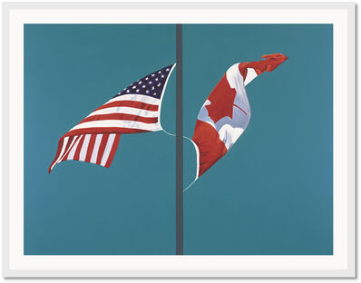 Charles Pachter, 'Side by Side, Giclee ', 2001