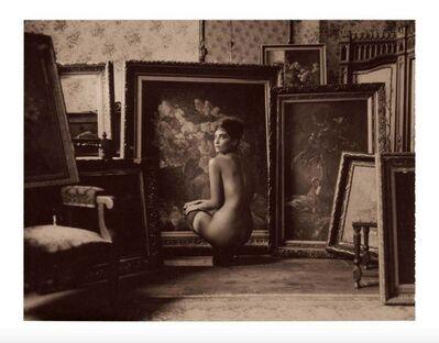 Marc Lagrange, 'Garden of Paintings Chocolate Polaroid'