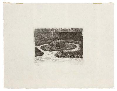 Giorgio Morandi, 'Il Giardino di via Fondazza', 1924
