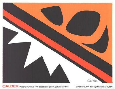 Alexander Calder, 'La Grenouille et la Scie (large)', 1971