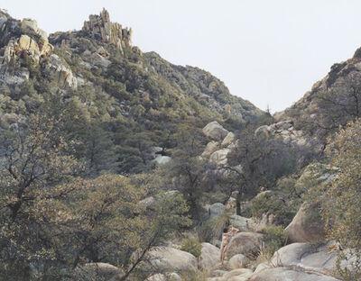 Justine Kurland, 'Self-Portrait with Caspar, Texas Canyon', 2006