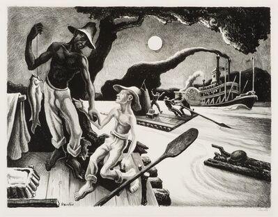Thomas Hart Benton, 'Huck Finn', 1936