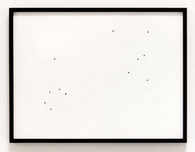 Iñigo Manglano-Ovalle, 'Apophis Orbit Drawing  (April 13, 2036, .375 AU / July 17, 2034, .899 AU)', 2012