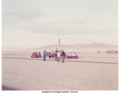 Richard Misrach, 'Waiting, Edwards Air Force Base, California', 1983
