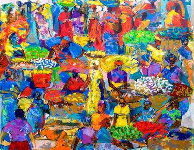 Larry Otoo, 'Market Colours', 2017