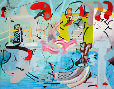 Alejandro Ospina, 'THIRSTY BEAR 11', 2015