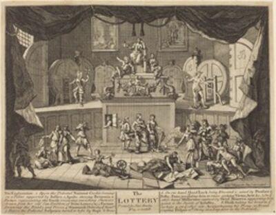 William Hogarth, 'The Lottery', 1721