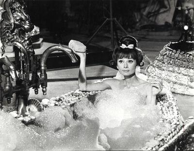 Unknown, 'Audrey Hepburn on the Set of Paris When It Sizzles, Paris', 1962