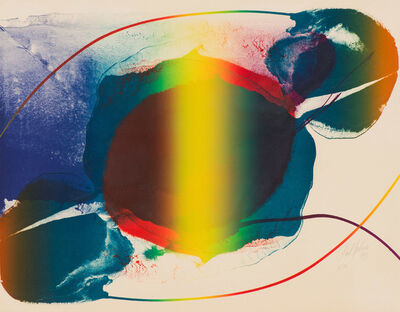 Paul Jenkins, 'Untitled IV (Phenomena Open Light)', 1973