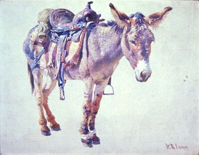William Robinson Leigh, 'Navaho Burro', circa 1915-1933