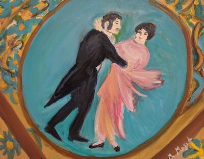 Marjorie Magid, 'Ballroom Dancers', 2016