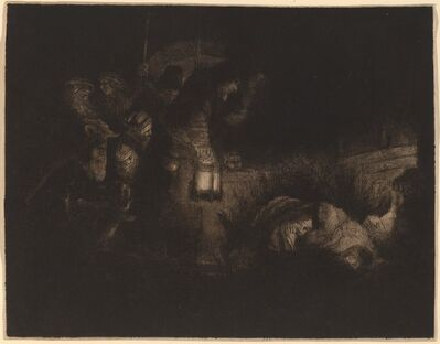 Rembrandt van Rijn, 'The Adoration of the Shepherds: a Night Piece', ca. 1652