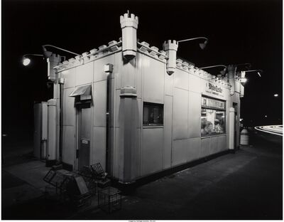 George Tice, 'White Castle, Route #1, Rahway, New Jersey', 1973